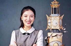 فتاة تبدع كعكات فنية من وحي ثقافة هانغتشو التقليدية