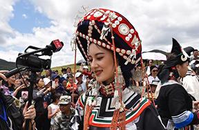 مسابقة ملكة جمال قومية يي في جبال جنوب غربي الصين